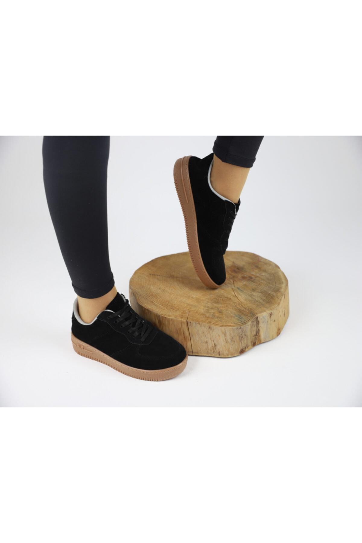 MSshopingg Kadın Siyah Casual Ayakkabı 2