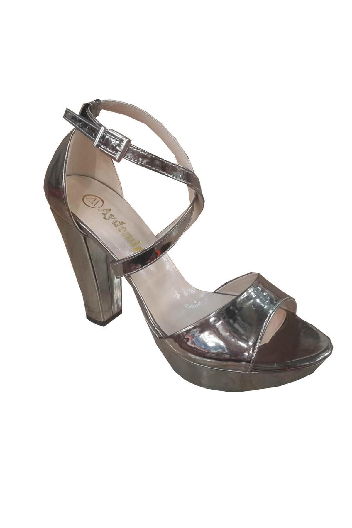 AYDEMİR AYAKKABI Aydemir 1920 Rugan 20mm Platform Kadın Sandalet 1