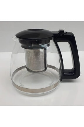 Etipar Süzgeçli Cam Demlik Tea Pot Çaydanlık Kiwi Arzum Sinbo Tefal Fakir Vestel   Philips Muadil Demlik