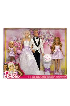 Barbie Ve Ken Evleniyor Oyun Seti