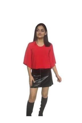 DRR Moda Sırt Dekolte Bluz