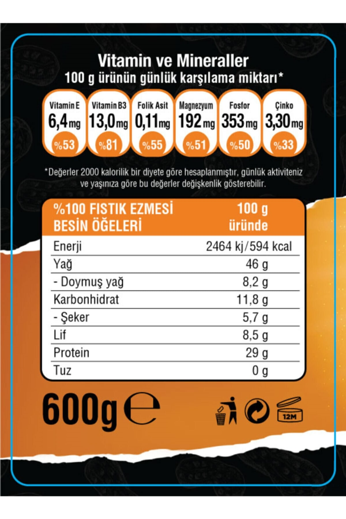 Dynamic Nutrition Dynamic Thermo L-carnitine 3000 Mg 1000 ml + Şekersiz Getfit Purenut Doğal Fıstık Ezmesi 600 gr 2