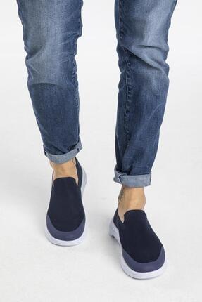 LETOON Erkek Lacivert Triko Spor Ayakkabı