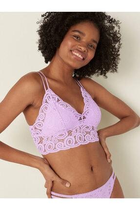 Victoria's Secret Pink Tığ Işi Dantel Bralet Sütyen
