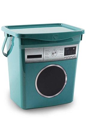 HOBBY LİFE Q-box Makine Desenli Deterjanlık Yeşil