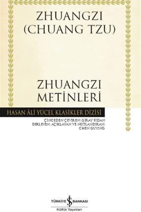 İş Bankası Kültür Yayınları Zhuangzi Metinleri - Chuang Tzu 9786254051562
