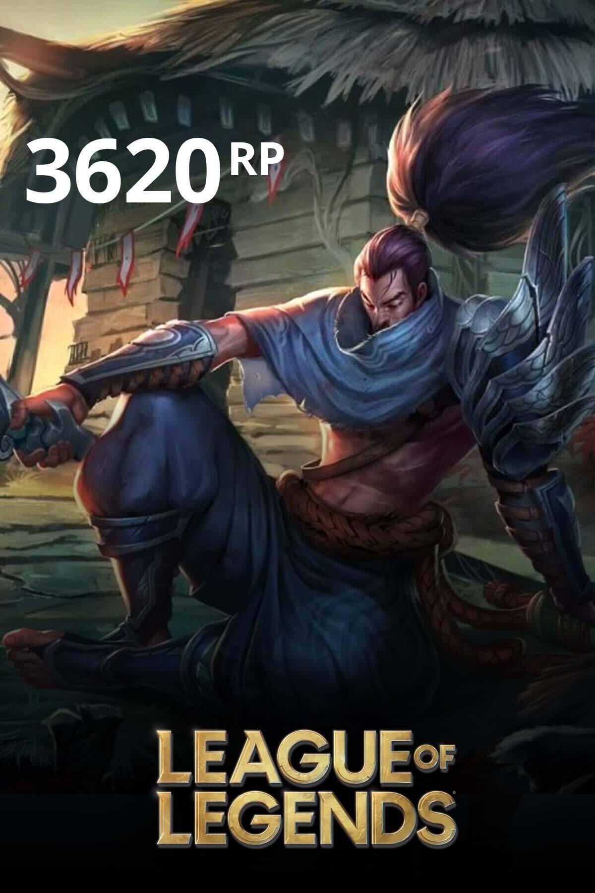 Riot Games League Of Legends 3620 Rp TR