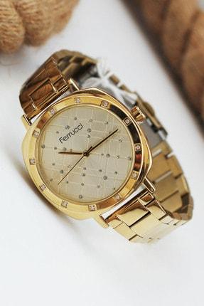 Ferrucci Kadın Gold Kare Kadran Kol Saati Fc 5210 02