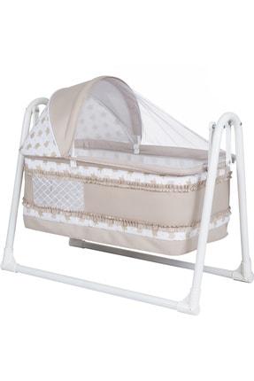 POLLY BABY Portatif Pencereli Sallanır Bebek Beşigi