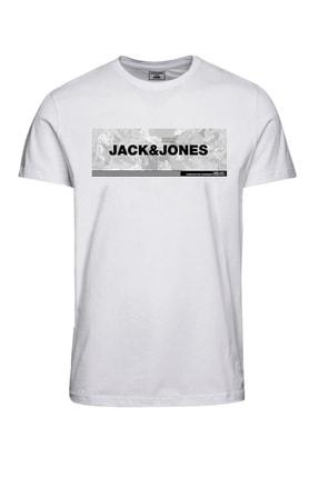 Jack & Jones Erkek T-Shirt JCOCAMPA TEE SS FST 12188029