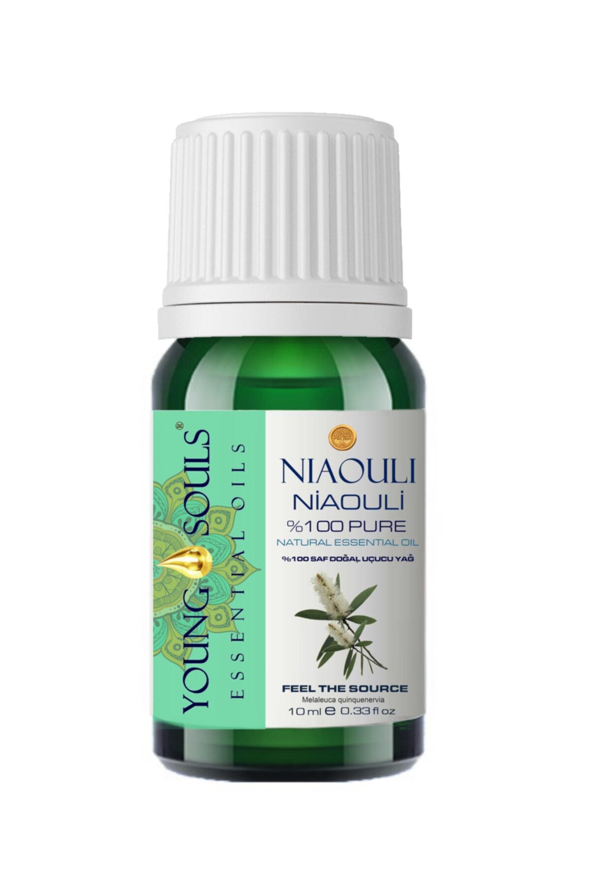 YOUNG SOULS % 100 Natural 10 ml Aromaterapi Niaouli Uçucu Yağı 1