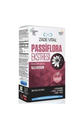 Zade Vital Passiflora Extract 30 Kapsül