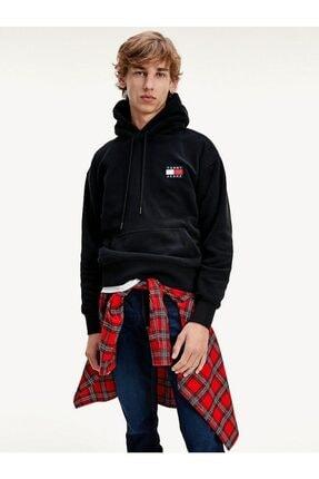 Tommy Hilfiger Erkek TJ Polar Kapüşonlu Sweatshirt