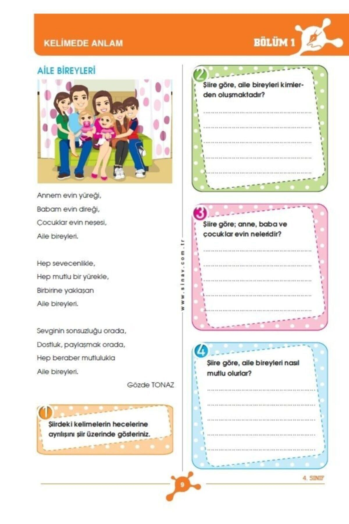 Sınav Yayınları 4. Sınıf Tüm Dersler Konu Anlatımlı 2