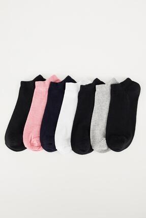 DeFacto 7'li Kısa Çorap