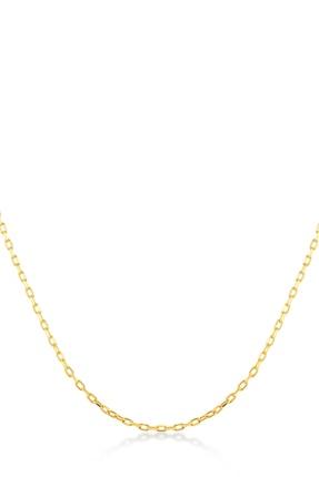 Gelin Pırlanta Kadın 14 Ayar Altın Zincir Kolye GLN100484