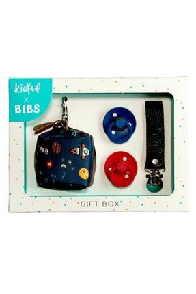 Bibs Kidful & Gift Box - Universe - 0-6 Aylık