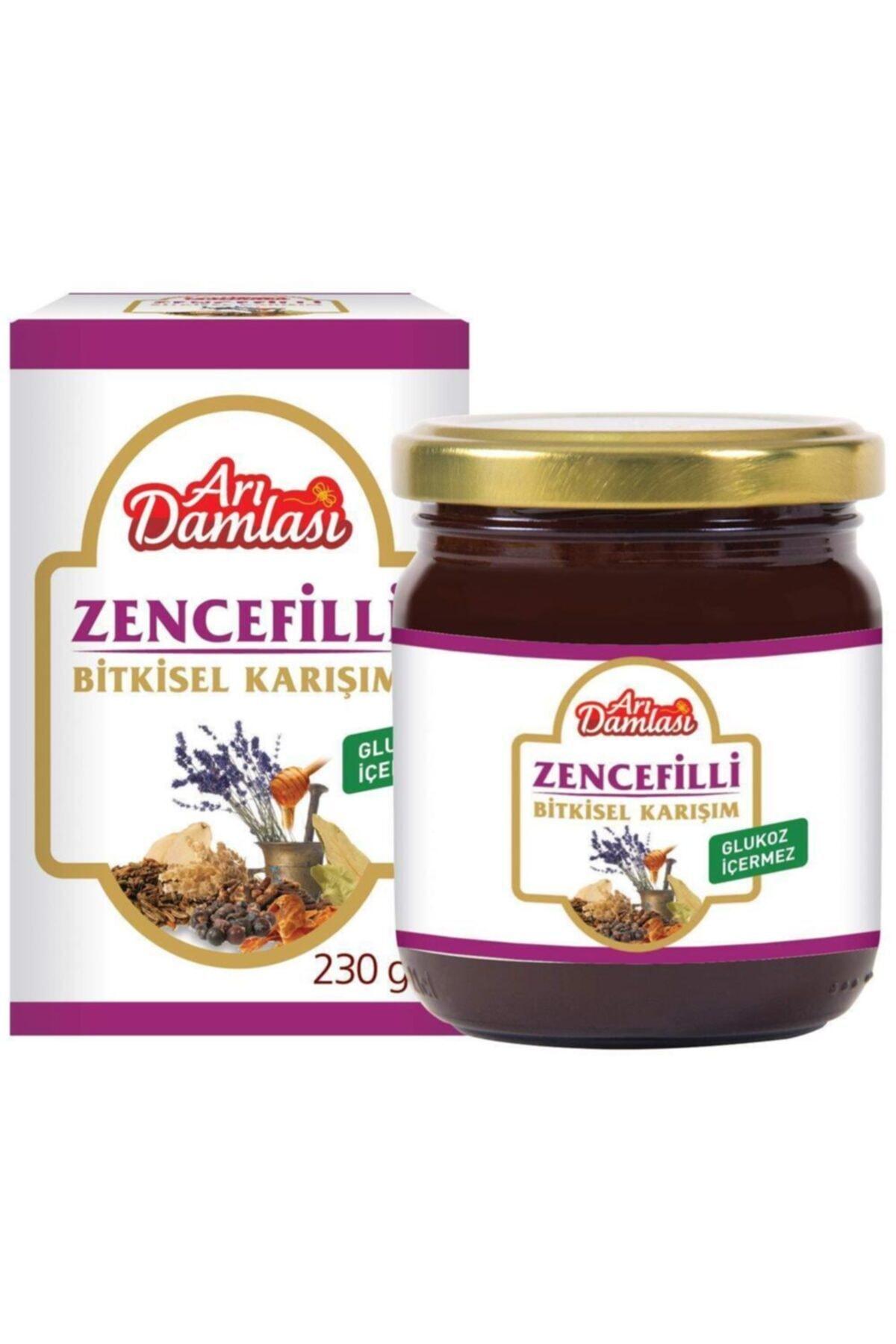 Arı damlası Zencefilli Karışım 230 Gr Katkısız %100 Doğal 1