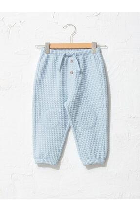LC Waikiki Erkek Çocuk Mavi Düz Pantolon