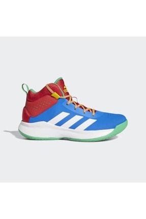 adidas Erkek Kırmızı Bağcıklı Basketbol Ayakkabısı