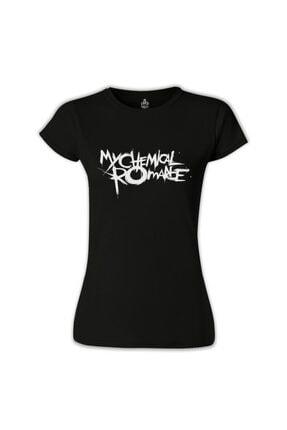 Lord T-Shirt My Chemical Romance Siyah Bayan Tshirt