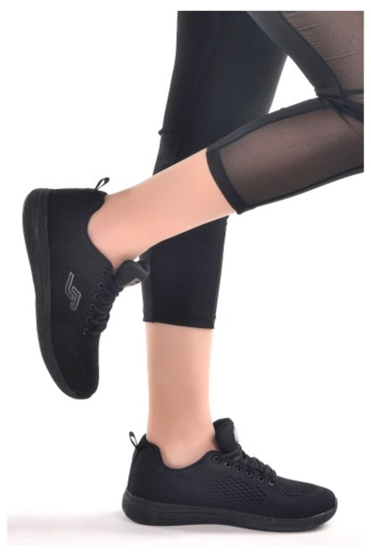 Jump 24937 Unisex Spor Ayakkabı, Siyah 1