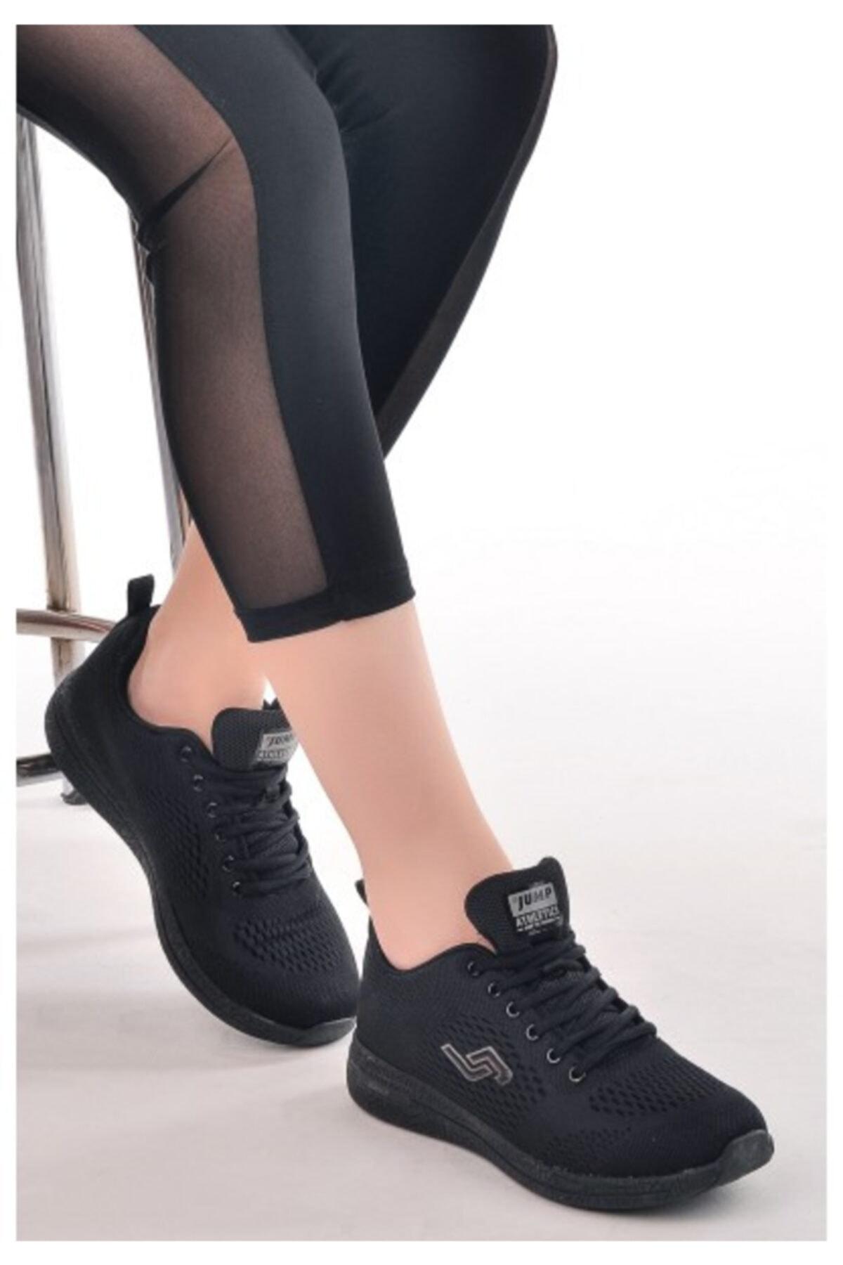 Jump 24937 Unisex Spor Ayakkabı, Siyah 2