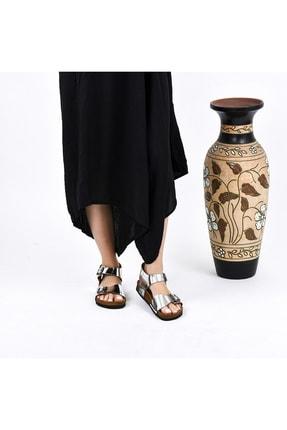 Moosefield Kadın Hakiki Deri Sandalet