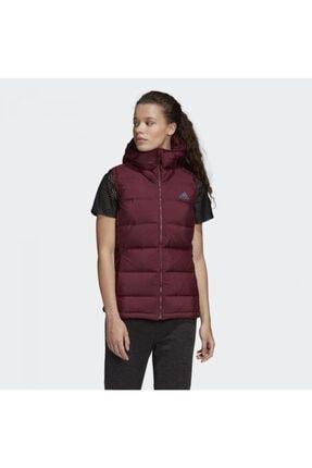 adidas Dz1492 Helionic Kadın Kırmızı Kolsuz Mont