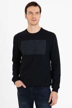 Pierre Cardin Sıyah Erkek Sweatshirt G021Sz082.000.1235933