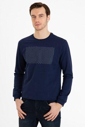 Pierre Cardin Lacıvert Erkek Sweatshirt G021Sz082.000.1235933