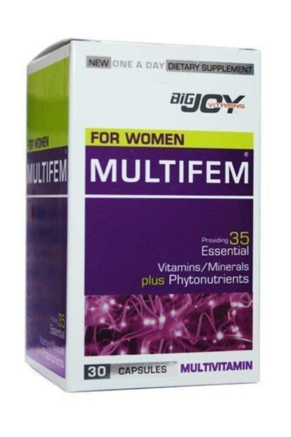 Big Joy Multifem Multivitamin 30 Kapsül 1