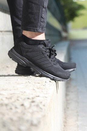 MP Erkek Siyah Bağcıklı Koşu Ayakkabı