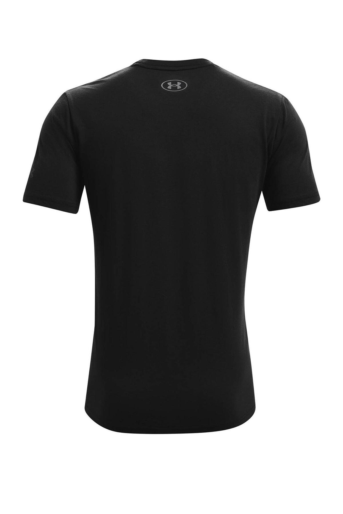 Under Armour Erkek Spor T-Shirt - UA Pjt Rock Brahma Bull SS - 1361733-001 2