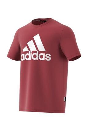adidas Erkek Yetişkin T-Shirt MH BOS Tee          LEGRED GC7351