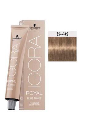 Igora Saç Boyası -royal Nude Tones 8-46 Açık Kumral-bej Çikolata