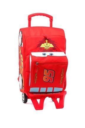 CARS 35337 Kırmızı Erkek Çocuk Okul Çantası 100205586