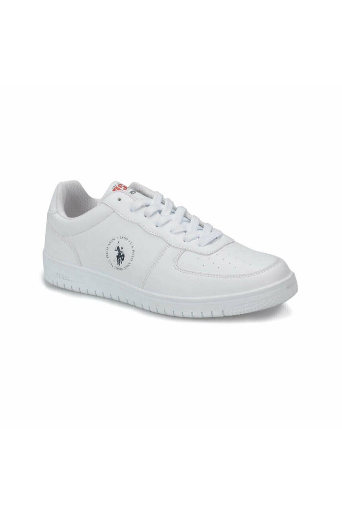 U.S. Polo Assn. DIMLER Beyaz Erkek Sneaker Ayakkabı 100281467 1