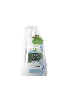 Incia Doğal Arındırıcı Zeytinyağlı Sıvı Sabun 250 Ml 2'li Paket