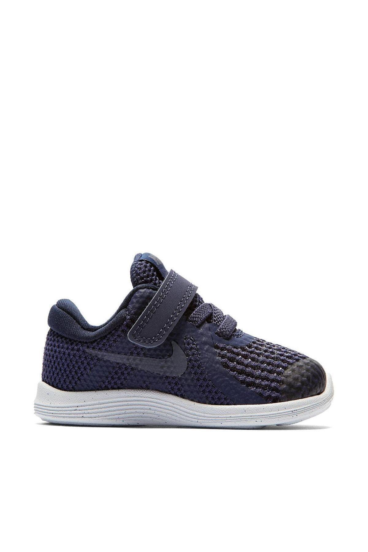 Nike Kids Unisex Çocuk Lacivert Revolution 4  Ayakkabısı 943304-501 1