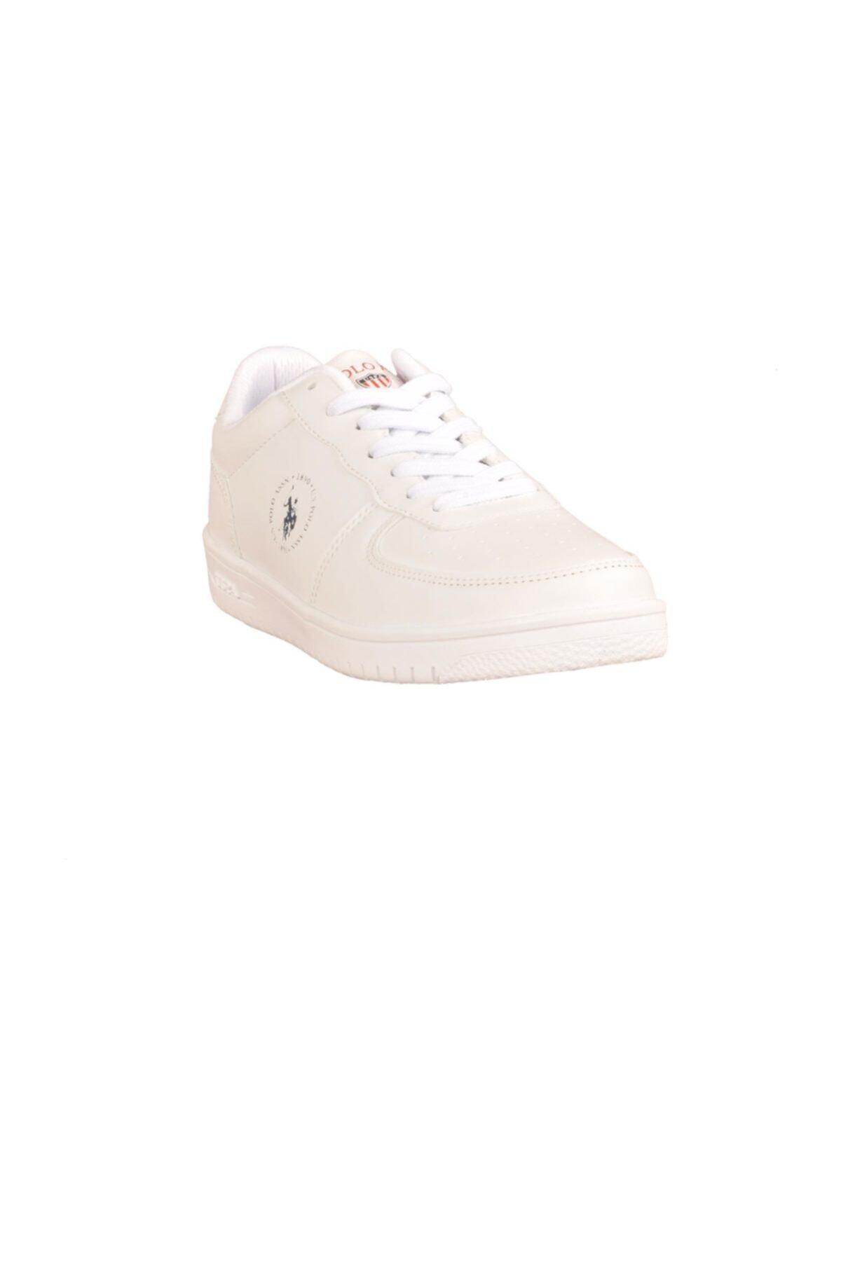 U.S. Polo Assn. Dimler Beyaz Kadın Sneaker Ayakkabı 100325940 2