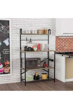 Brady Mobilya Lux Regor Mutfak Bangosu, Raf, Düzenleyici, Kitaplık, Çok Amaçlı Tezgah, Banyo Dolap