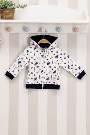 U.S. Polo Assn. Erkek Bebek Krem  Sweatshirt
