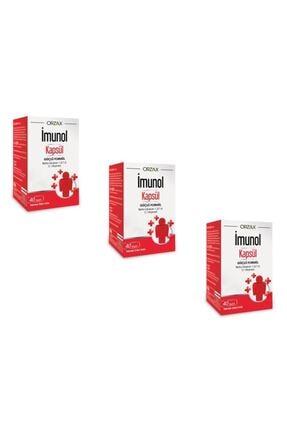 Ocean Orzax Imunol 40 Kapsül 3'lü Paket