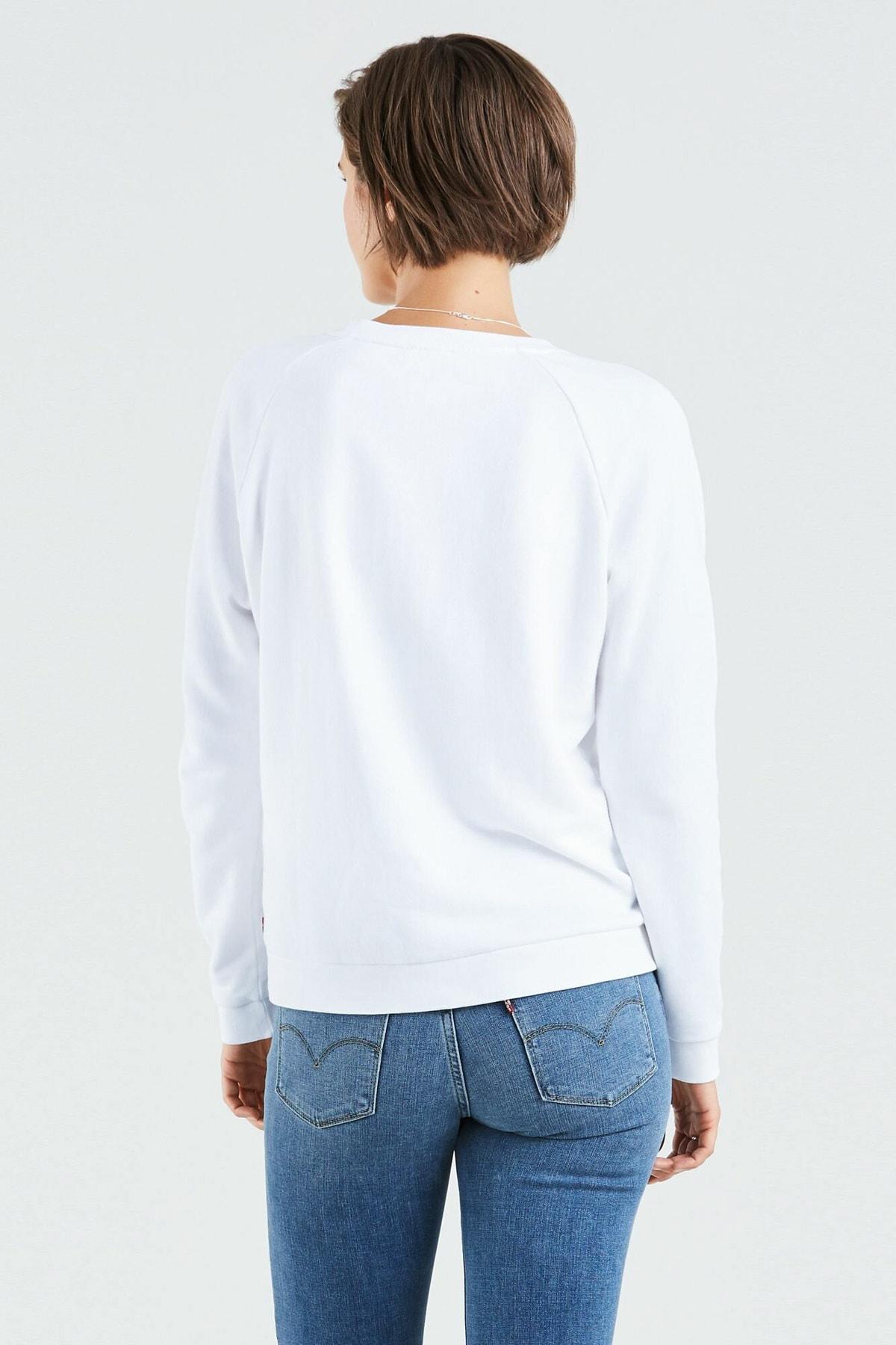 Levi's Kadın Beyaz Sweatshirt 29717-0063 2