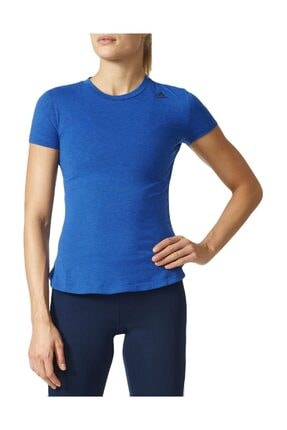 adidas Kadın Tişörtü Mavi Prime Tee BK2704