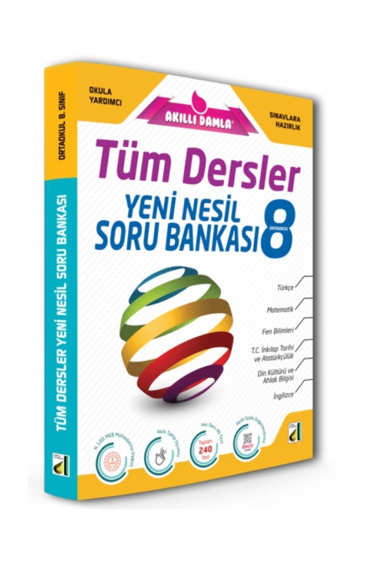 Damla Yayınevi Damla 8.Sınıf Tüm Dersler Soru Bankası 1