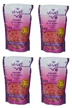 Vi-vet Soyulabilir Pudralı Granül Boncuk Ağda 4 Adet