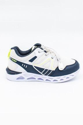 Jump Beyaz Laciv.yeşil Çocuk Spor Ayakkabı