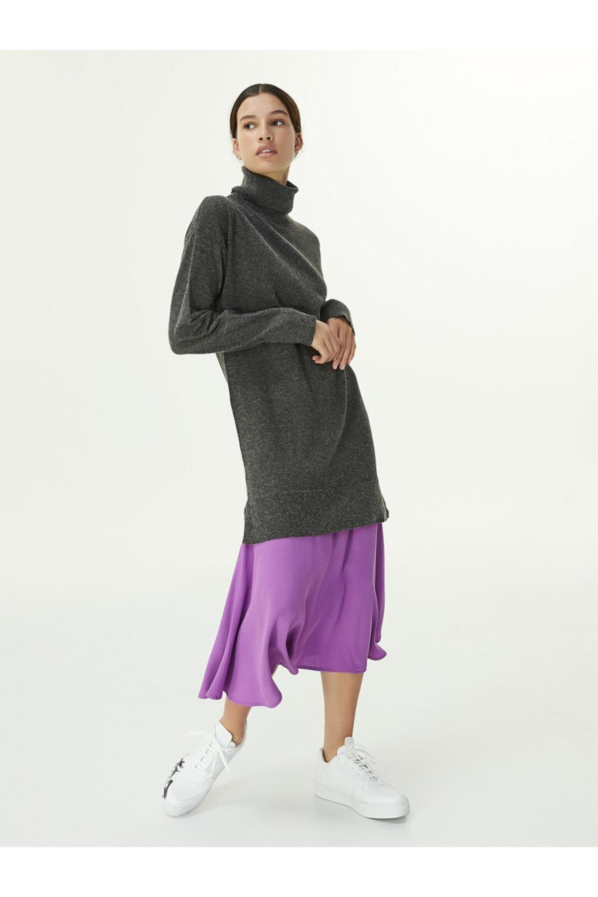 Twist Renk Geçişli Elbise 1